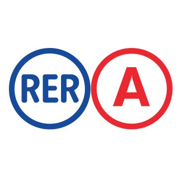 """Résultat de recherche d'images pour """"rer A"""""""