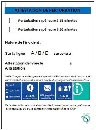 bulletins RATP
