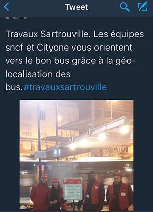 expérimentation sartrouville géolocalisation bus