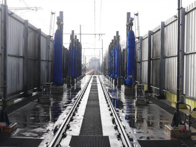 La machine à laver les trains de Rueil