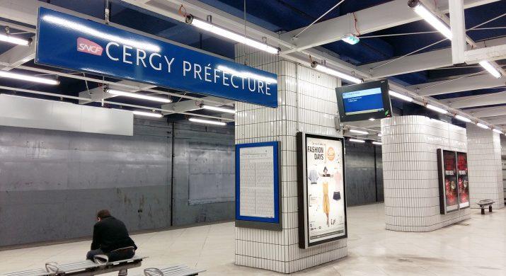 Gare de Cergy Préfecture