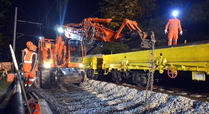 chantier de nuit Saint Maur