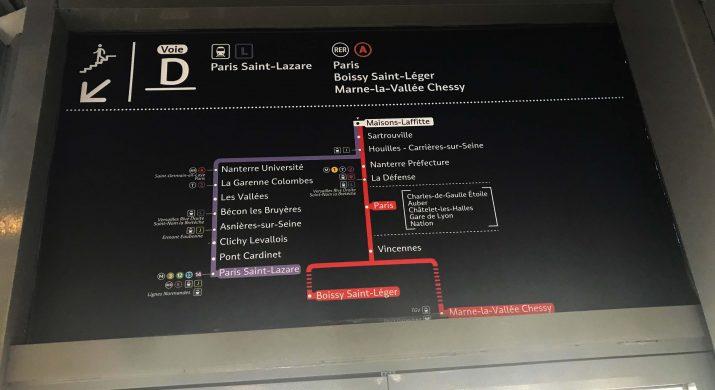 Plusieurs Itineraires Sur Votre Trajet Depuis Cergy Vers Paris Le