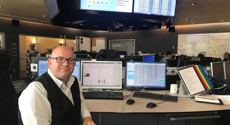 [Rencontre avec les acteurs de l'Information voyageurs] Laurent, au cœur l'Information voyageurs de tout le réseau de la RATP